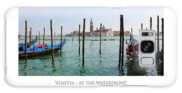 Venetia - At The Waterfront Galaxy Case