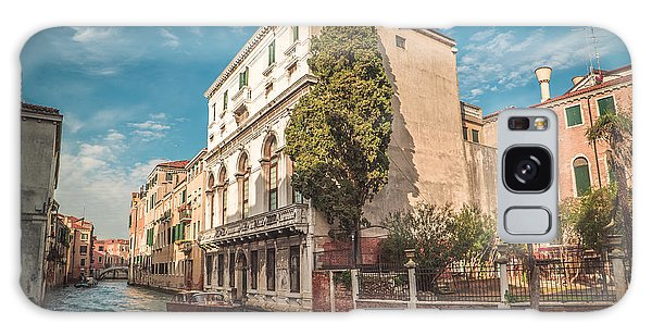Venetian Architecture And Sky - Venice, Italy Galaxy Case