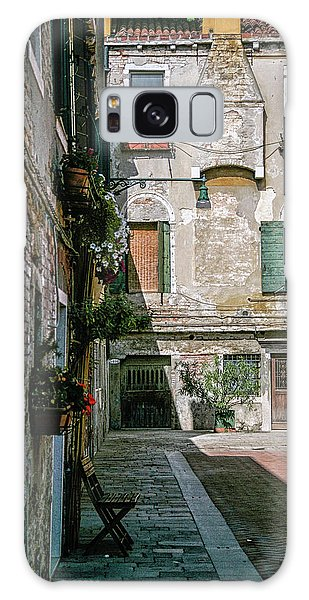Venetian Back Street Galaxy Case
