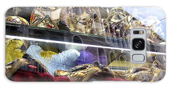 Venetian Carnival Reflections Galaxy Case