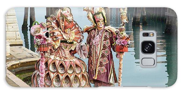 Venetian Couple Along The Canal Galaxy Case