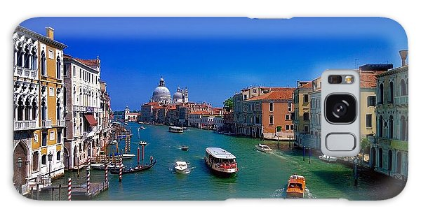 Galaxy Case featuring the photograph Venetian Highway by Anne Kotan