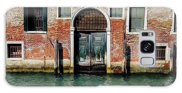 Venetian House On Canal Galaxy Case