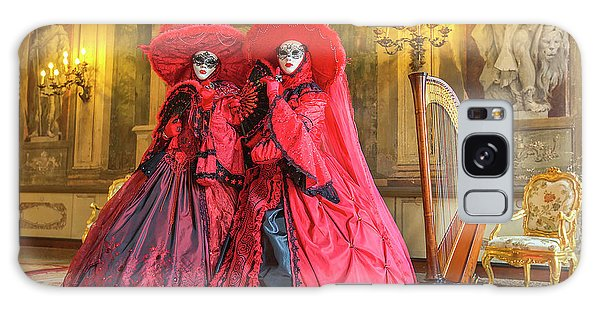 Venetian Ladies In The Palace Galaxy Case