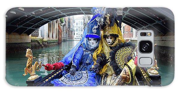 Venetian Ladies On A Gondola Galaxy Case