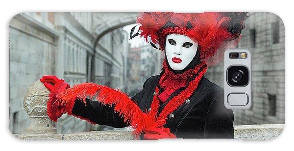 Venetian Lady At The Bridge Of Sighs Galaxy Case
