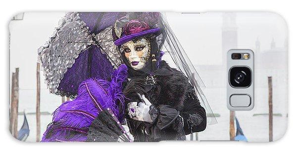 Venetian Lady In Purple Galaxy Case