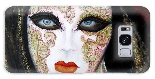 Venetian Mask In Black 2015 Galaxy Case