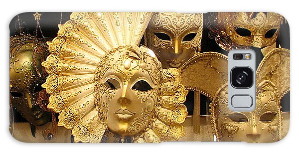 Venetian Masks Galaxy Case