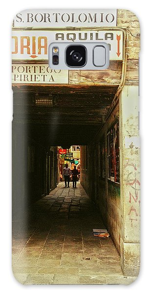 Galaxy Case featuring the photograph Venetian Passage by Anne Kotan