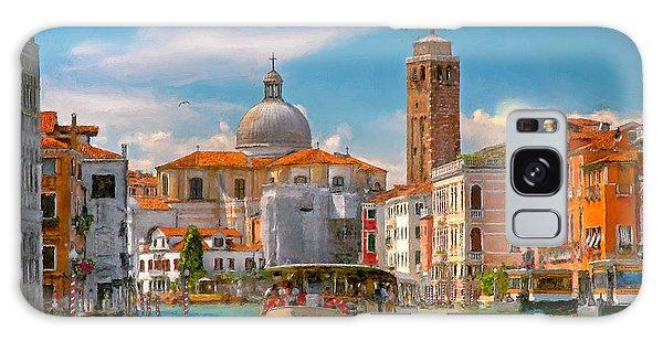 Venezia. Fermata San Marcuola Galaxy Case