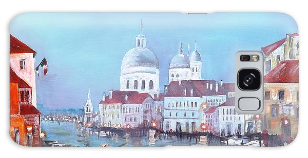 Venice At Dusk Galaxy Case