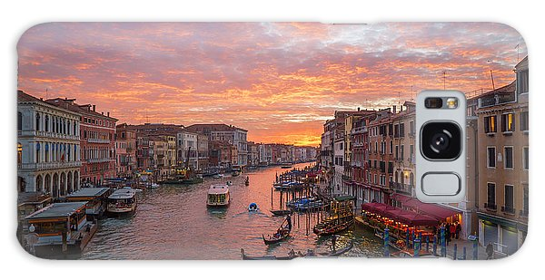 Venice At Sunset - Italy Galaxy Case