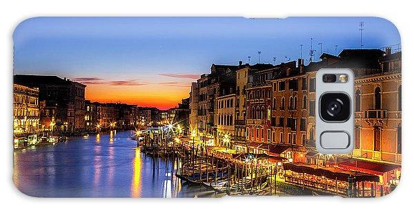 Venice At Twilight Galaxy Case