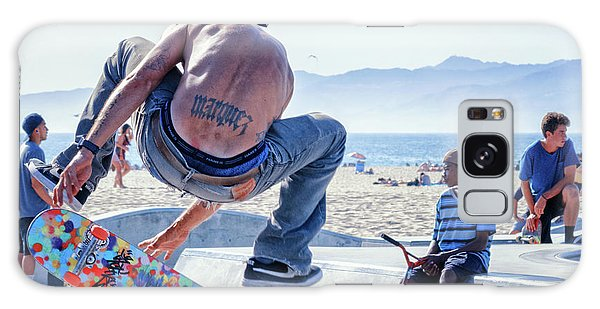 Venice Beach Skater Galaxy Case