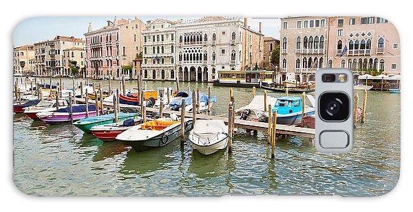 Venice Boats Galaxy Case
