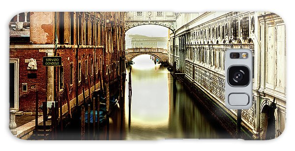 Venice Bridge Of Sighs Galaxy Case