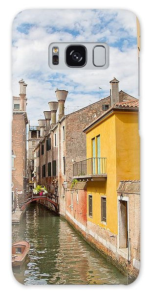 Venice Canal Galaxy Case by Sharon Jones