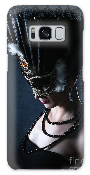 Galaxy Case featuring the photograph Venice Carnival Mask by Dimitar Hristov
