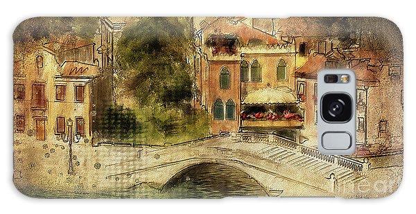 Venice City Of Bridges Galaxy Case by Lois Bryan