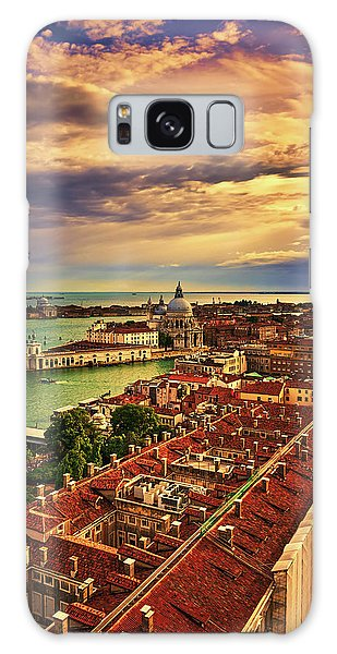 From The Bell Tower In Venice, Italy Galaxy Case