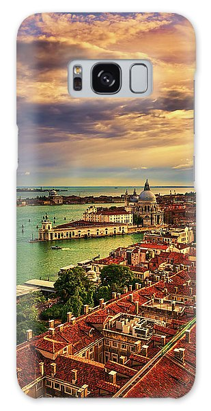 Venice From The Bell Tower Galaxy Case