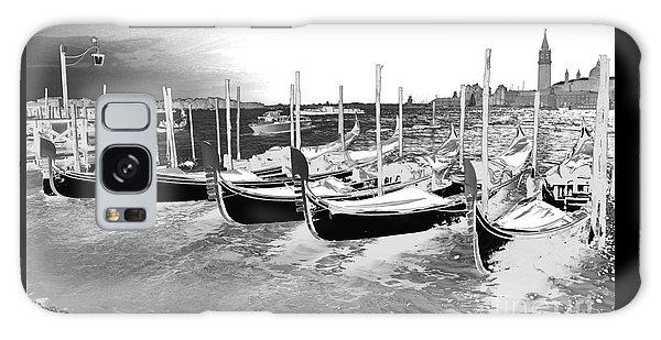 Venice Gondolas Silver Galaxy Case