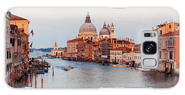 Galaxy Case featuring the photograph Venice Grand Canal by Songquan Deng