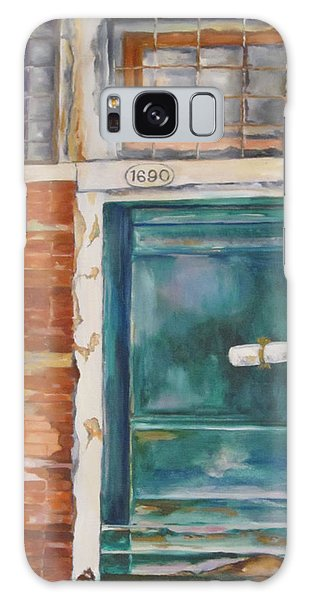 Venice Green Door Galaxy Case