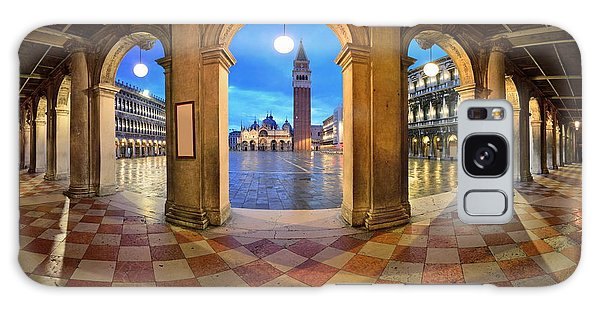 Galaxy Case featuring the photograph Venice Hallway by Songquan Deng