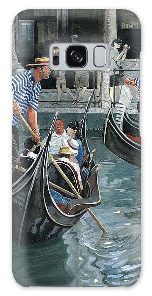 Venice. Il Bacino Orseolo Galaxy Case by Igor Sakurov