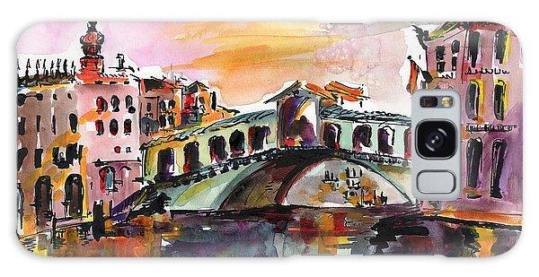 Venice Italy Silence Rialto Bridge Galaxy Case