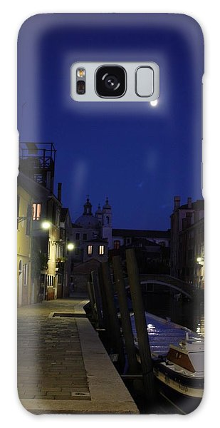 Venice Moon Galaxy Case by Pat Purdy