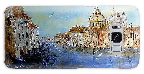 Venice Oil Sketch  Galaxy Case