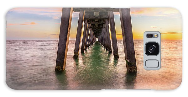 Galaxy Case featuring the photograph Venice Pier by Expressive Landscapes Fine Art Photography by Thom