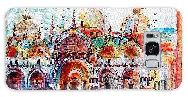 Venice Piazza Saint Marco Basilica Galaxy Case
