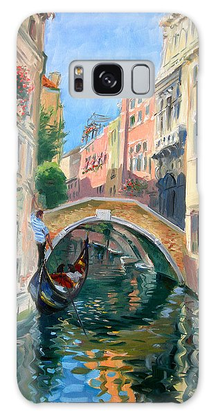 Reflections Galaxy Case - Venice Ponte Widmann by Ylli Haruni