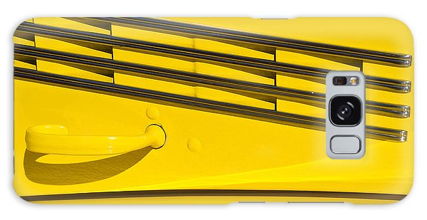 Vented Chrome To Yellow Galaxy Case