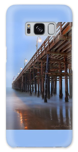 Ventura Ca Pier At Dawn Galaxy Case