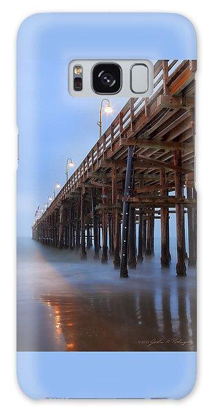 Ventura Ca Pier At Dawn Galaxy Case by John A Rodriguez