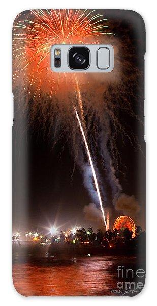 Ventura California Fair Fireworks Galaxy Case by John A Rodriguez