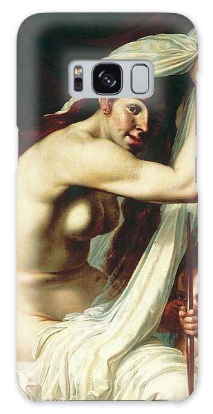 Venus Galaxy Case - Venus And Cupid by Werner Jacobsz van den Valckert
