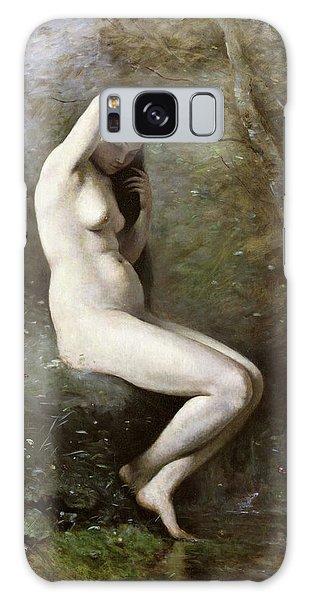 Venus Galaxy Case - Venus Bathing by Jean Baptiste Camille Corot