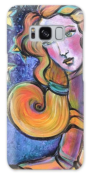 Galaxy Case featuring the painting Venus Of Barbosso  by Laurie Maves ART