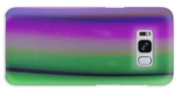 Verbena Stripe Galaxy Case