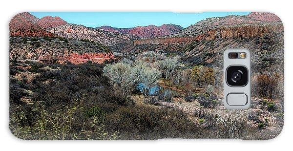 Verde Canyon Oasis Galaxy Case