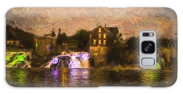 Vergennes Falls Lit Up Galaxy Case