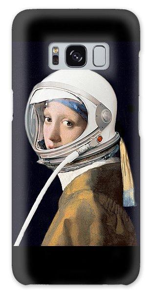 Vermeer - Girl In A Space Helmet Galaxy Case