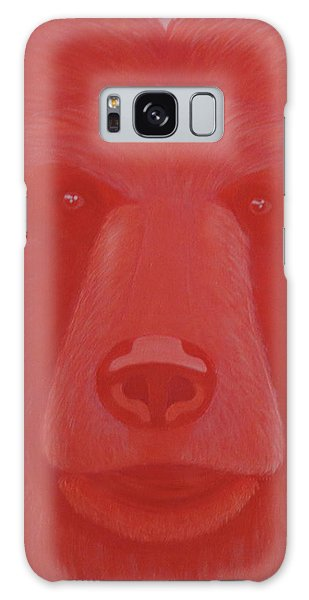 Vermillion Bear Galaxy Case