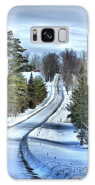 Vermont Country Landscape Galaxy Case by Deborah Benoit